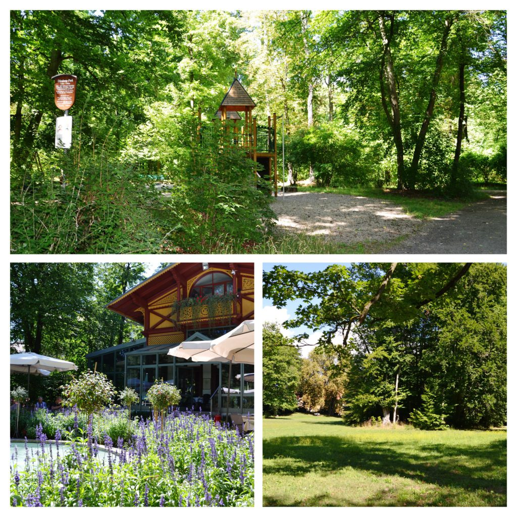 Dörnbergpark s Rosariem